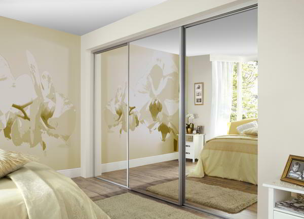 to measure fitted sliding mirror wardrobe doors track set ebay
