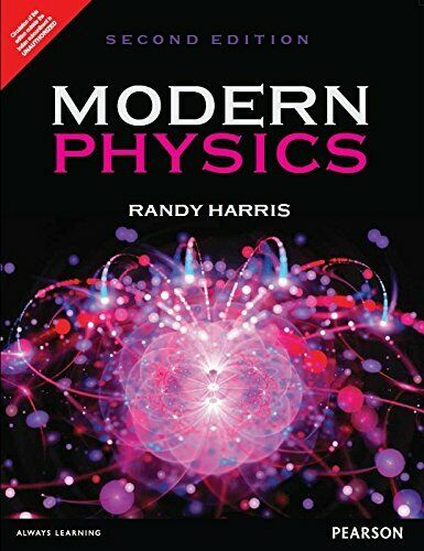 Book Cover Design Latex : Modern physics by randy harris  ebay