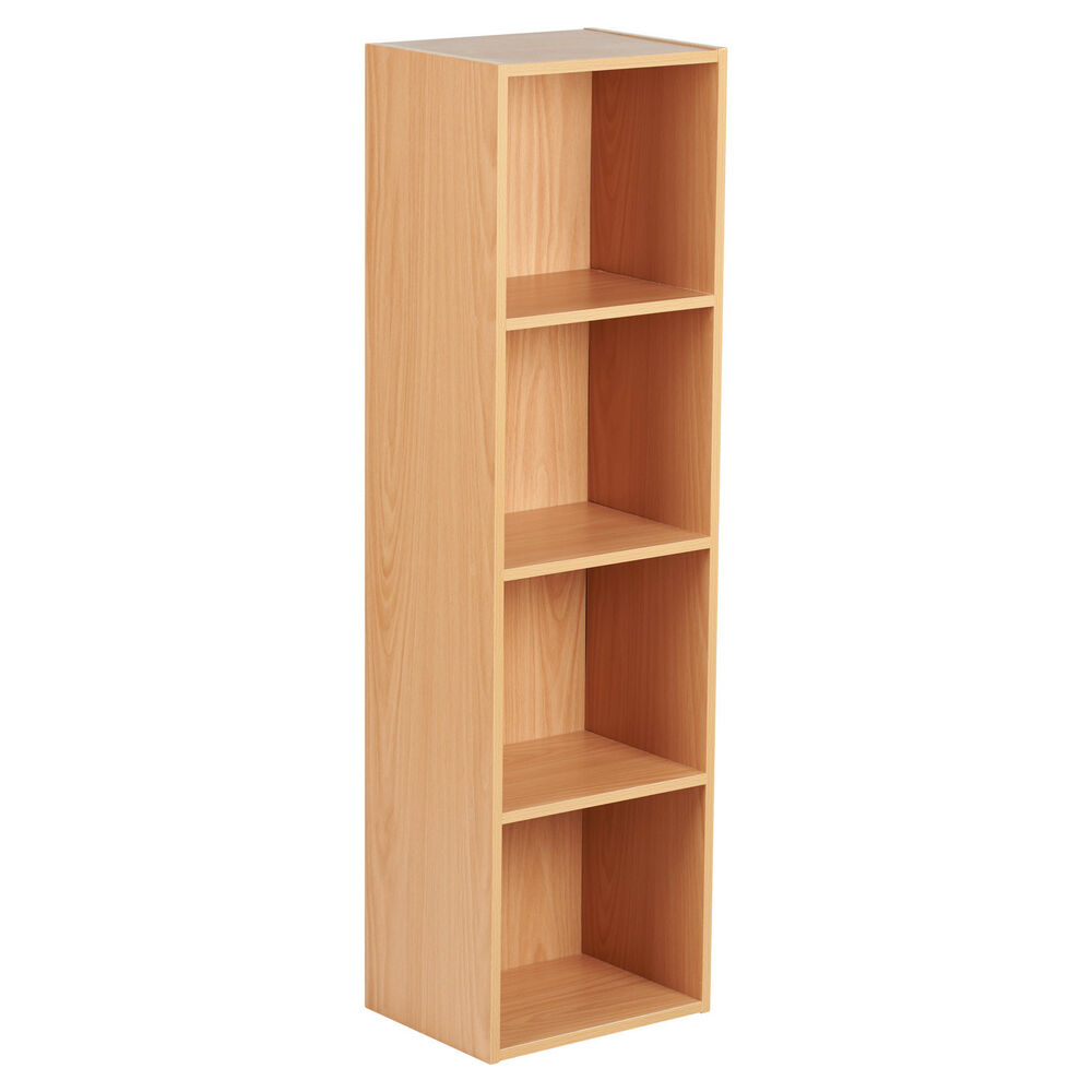 Hartleys Beech Freestanding Wooden Bookcase Storage
