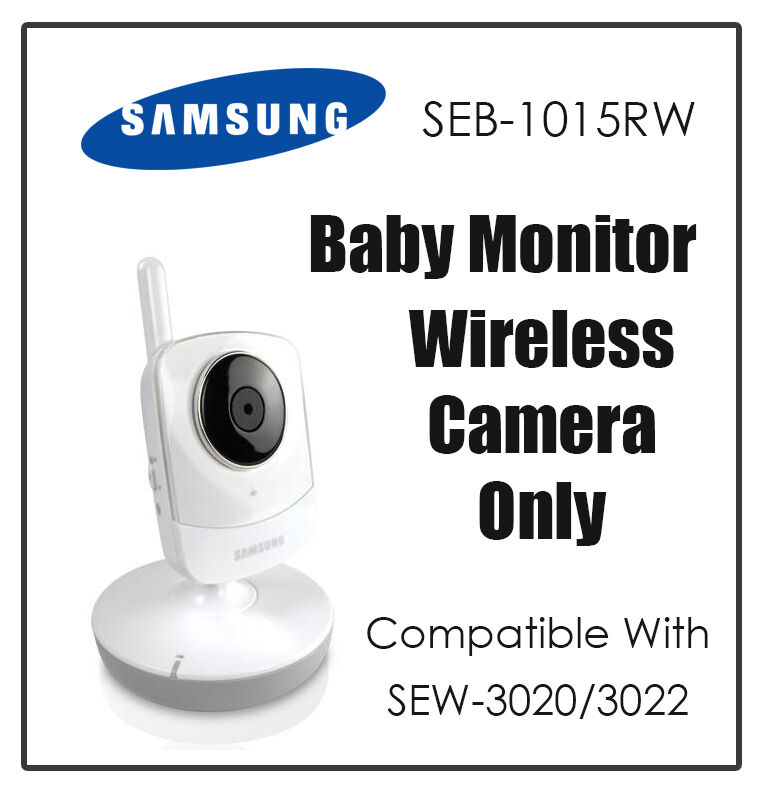 samsung seb 1015rw wireless baby video monitor camera for sew 3020 sew 3022 ebay. Black Bedroom Furniture Sets. Home Design Ideas