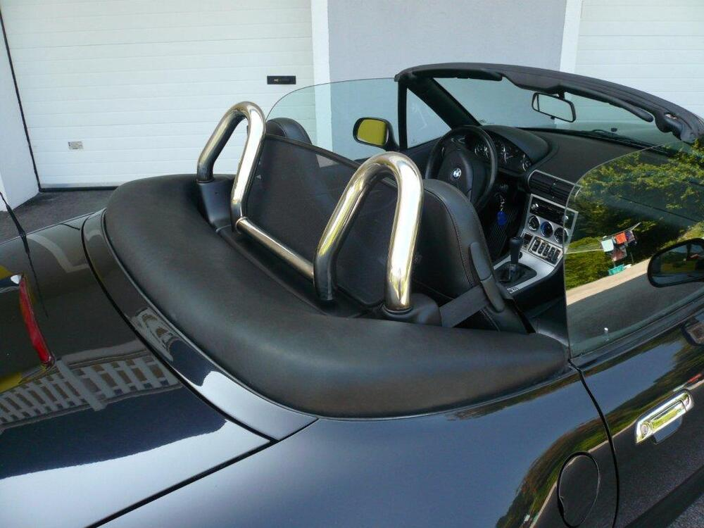 Bmw Z3 Roll Bar Roadster 252 Frame Stainless Steel Polished
