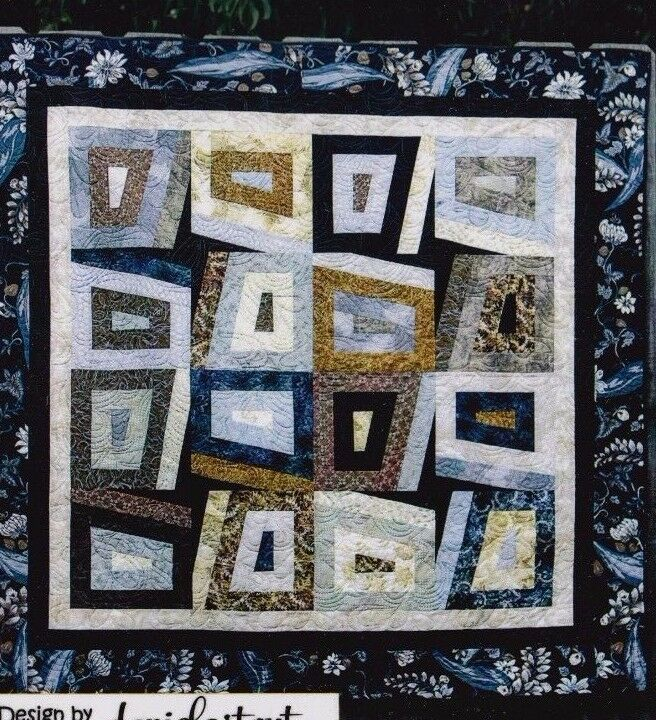 Quilt Patterns Using 6 Strips : Peeking Points - simple pieced quilt PATTERN for 2.5