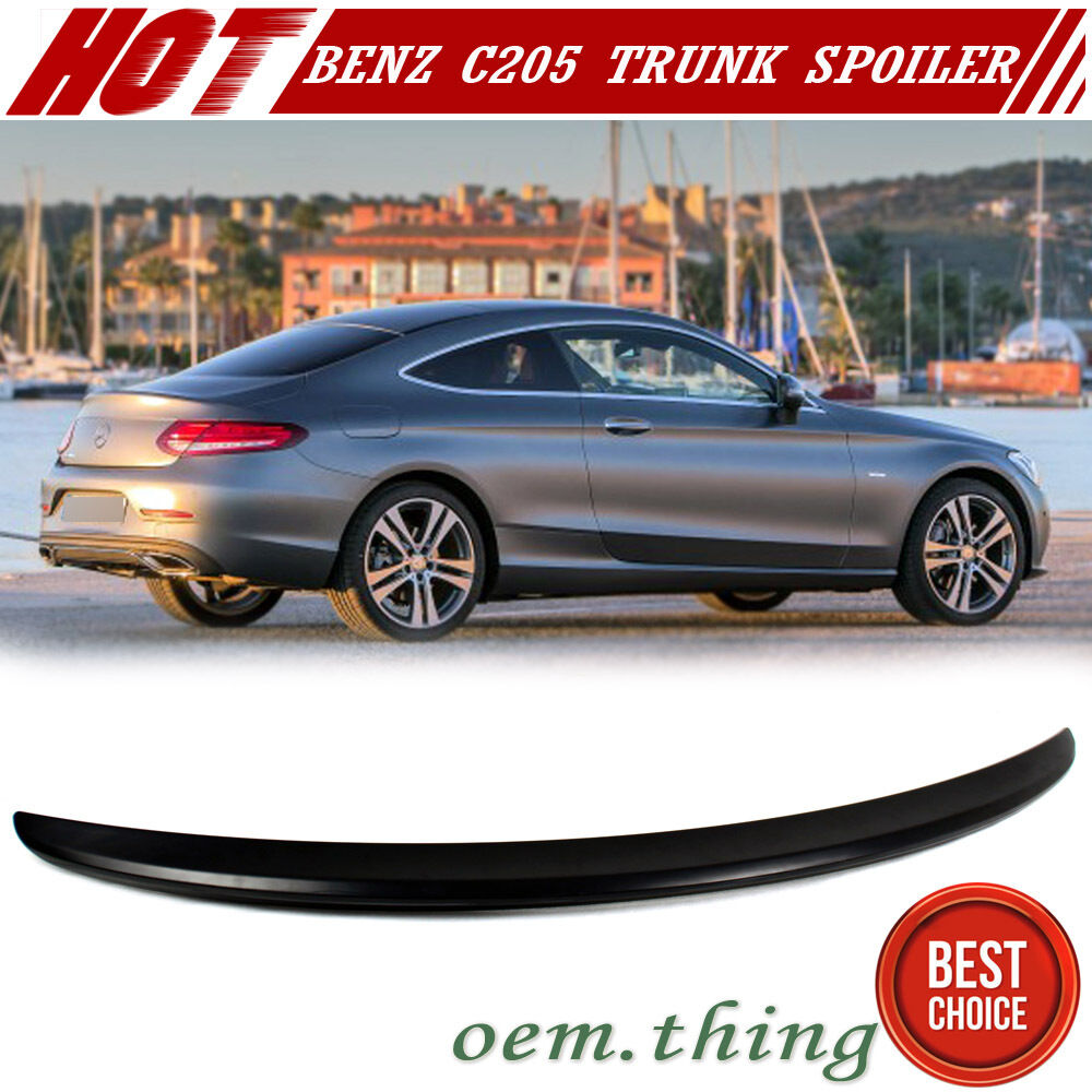 unpainted mercedes benz c class c205 coupe a style rear. Black Bedroom Furniture Sets. Home Design Ideas
