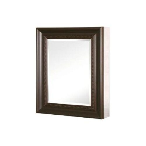 medicine cabinet 24 in x 30 in recessed surface mount mirrored rubbed bronze 638908061061 ebay. Black Bedroom Furniture Sets. Home Design Ideas