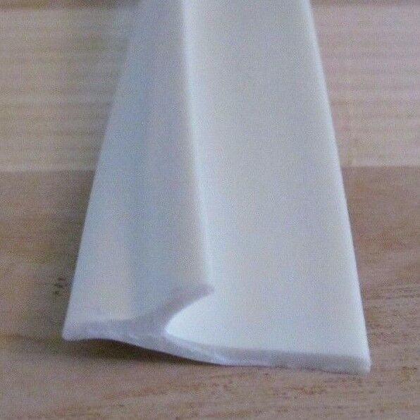 20 Feet White Flexible Reverse Cove Cabinet Molding Trim