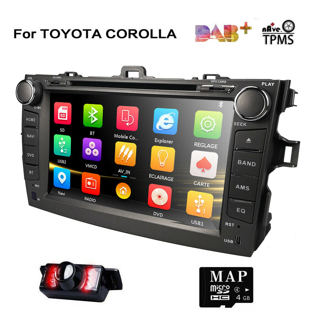 Car Stereo For Toyota Corolla 2007