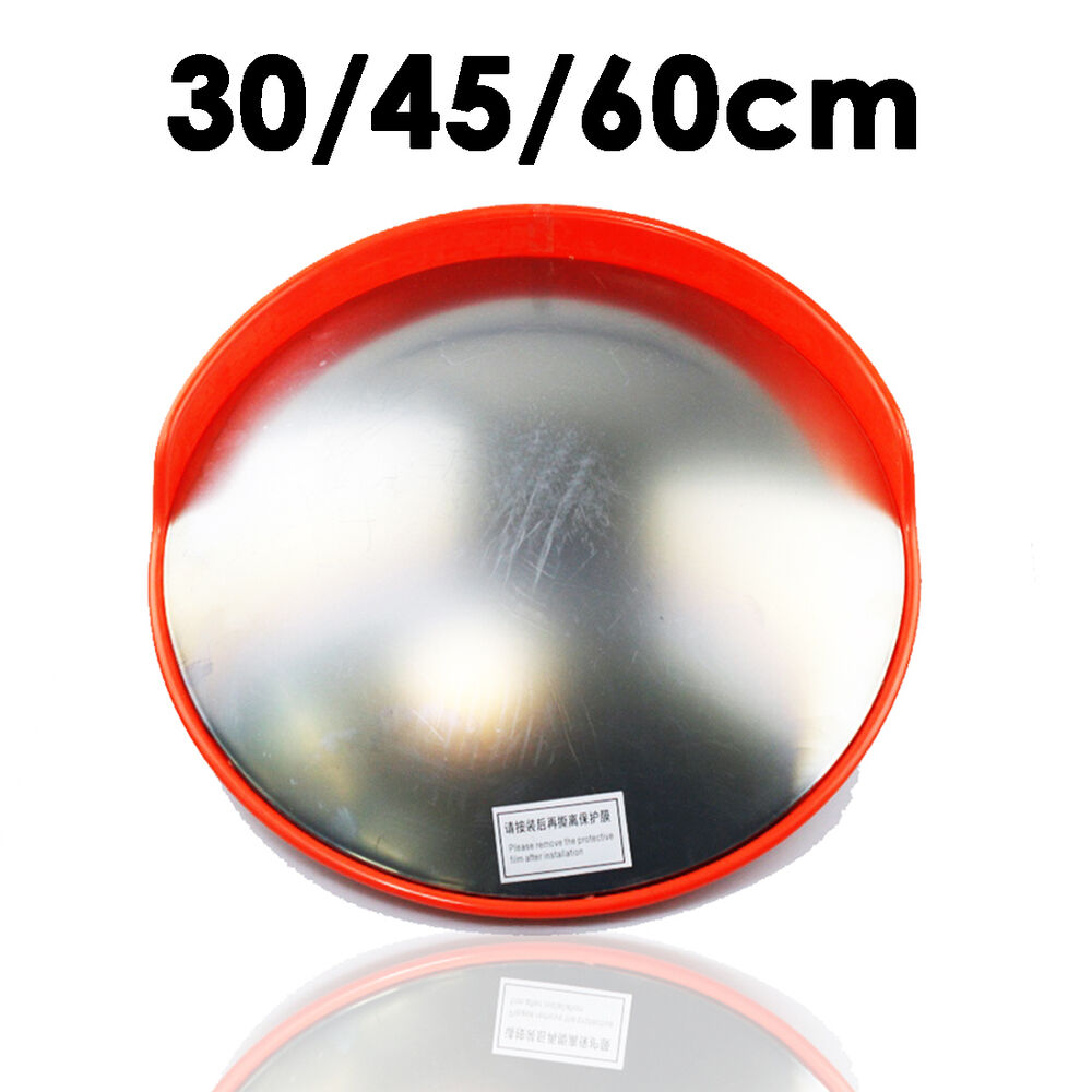 New 45 60cm wide angle security curved convex road mirror for Mirror 60cm wide