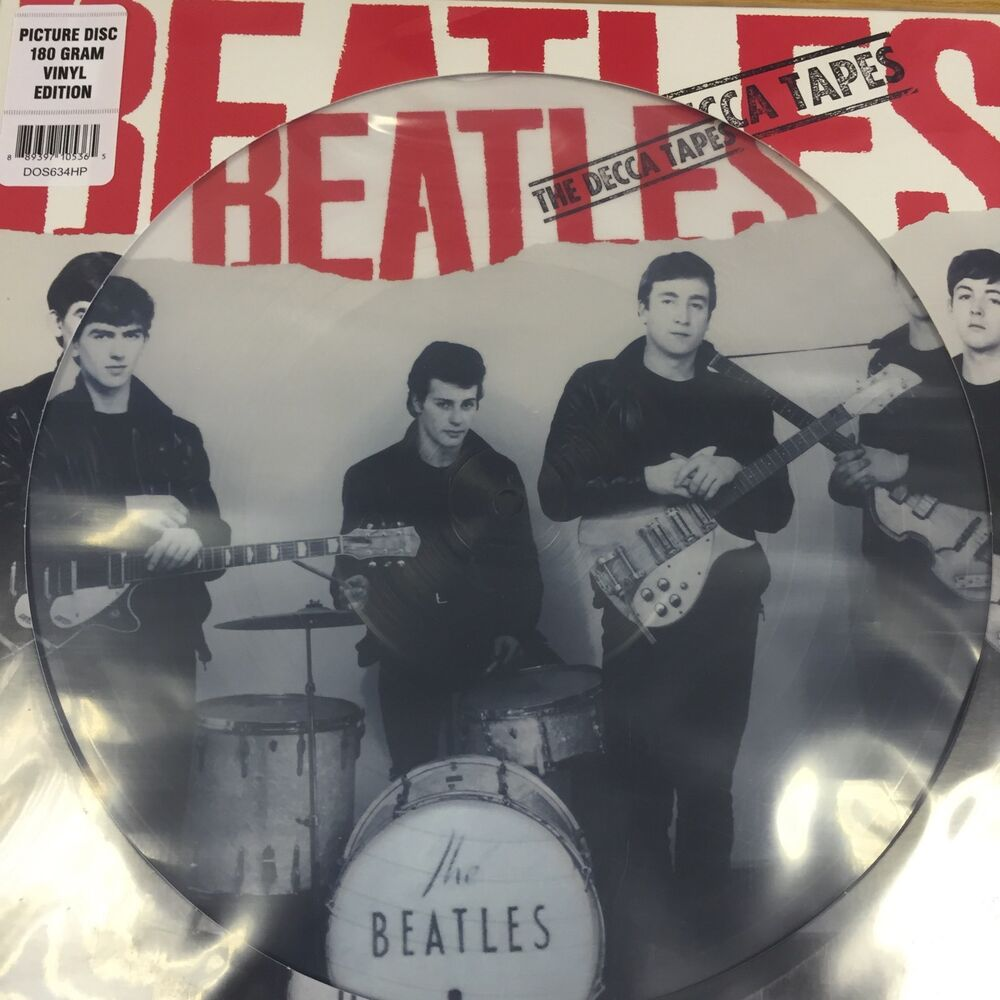 The Beatles The Decca Tapes Picture Disc Vinyl Lp