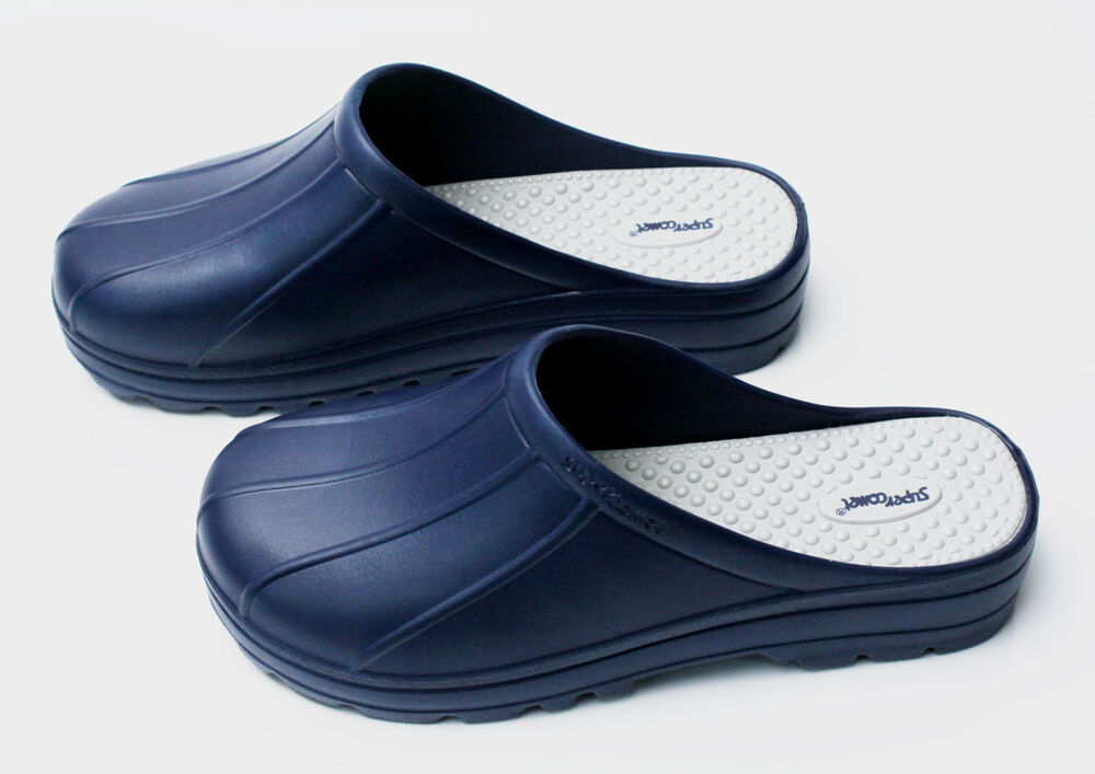 new mens chef shoes slippers sandal clogs water safety