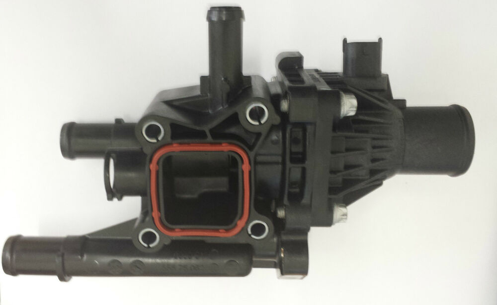 vauxhall astra j 1 6 and 1 8 thermostat housing 25192230 genuine gm new ebay. Black Bedroom Furniture Sets. Home Design Ideas