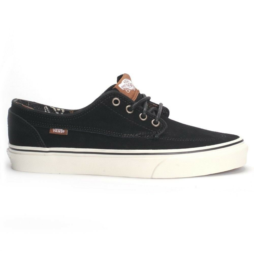 d626cba6b0 Details about Vans Brigata (Desert Tribe) Suede Black Men s Classic Skate  Shoes