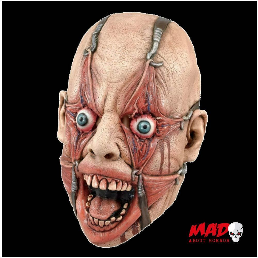 SCARY! Tortured Man Hamulus Fear Mask for Creepy Mens Halloween ...