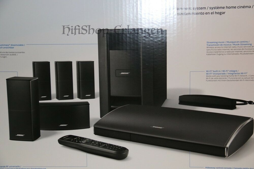bose lifestyle 525 series iii 5 1 heimkinosysteme mit soundtouch 3d w neu ovp ebay. Black Bedroom Furniture Sets. Home Design Ideas