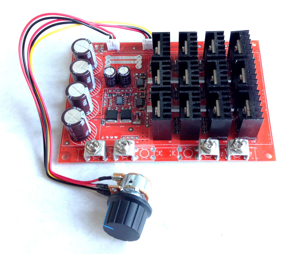 speed controller for dc motor 24 to 48 volt 1 hp motors 60