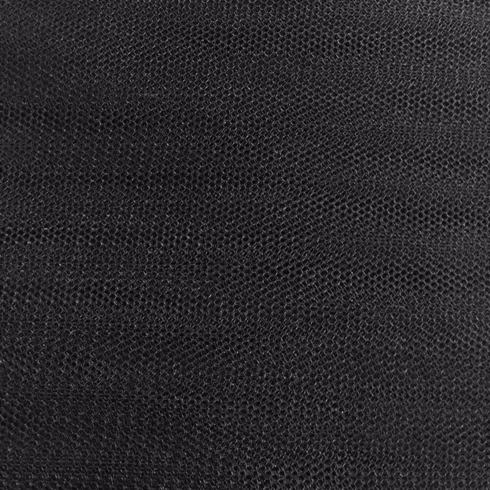 Black super stiff dress net tutu fabric material tulle for Fabric material