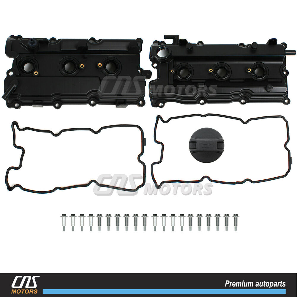 Valve Cover Set W/ Gaskets For 02-09 Nissan Altima Maxima