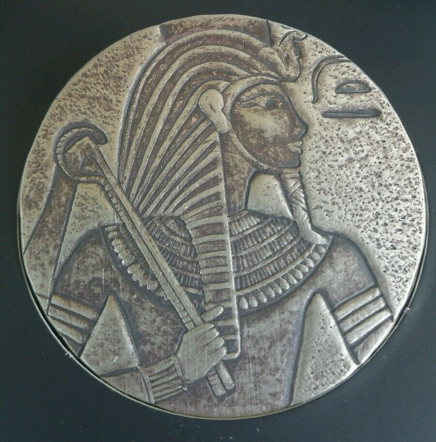 2016 5 Oz 999 Silver Coin Republic Of Chad King Tut