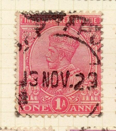 India 1911-22 Early Issue Fine Used 1a. 085118