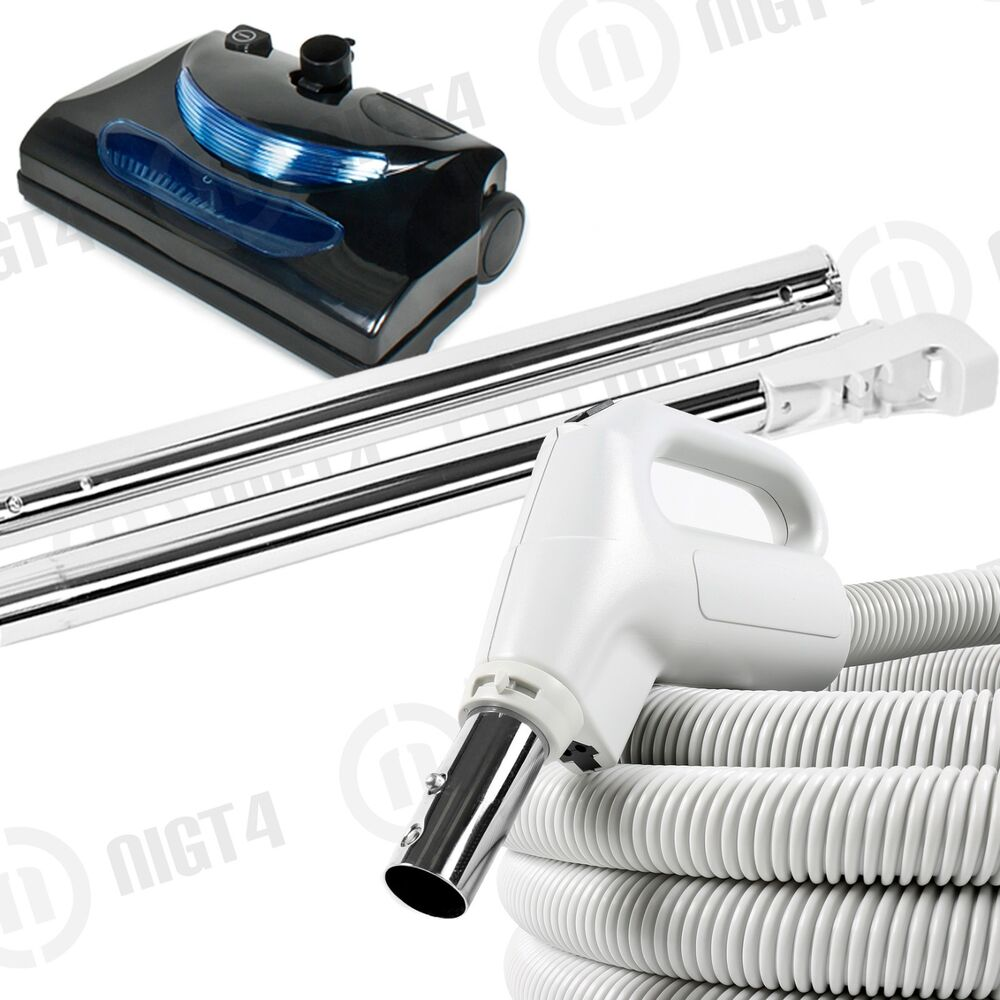 Powerful Central Vacuum System 30 Electric Hose