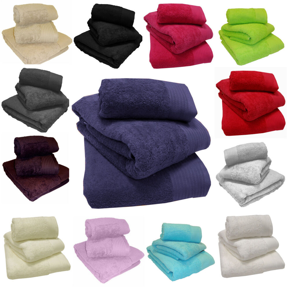 Luxury 100 Egyptian Cotton Super Soft 600 Gsm Towels Hand