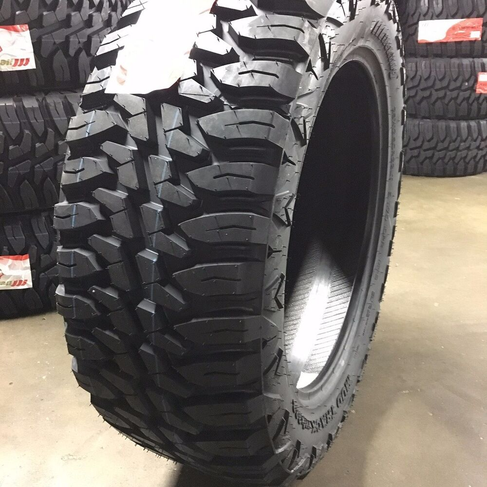 4 new 35 22 mileking mt 10 ply r22 mud tires ebay. Black Bedroom Furniture Sets. Home Design Ideas