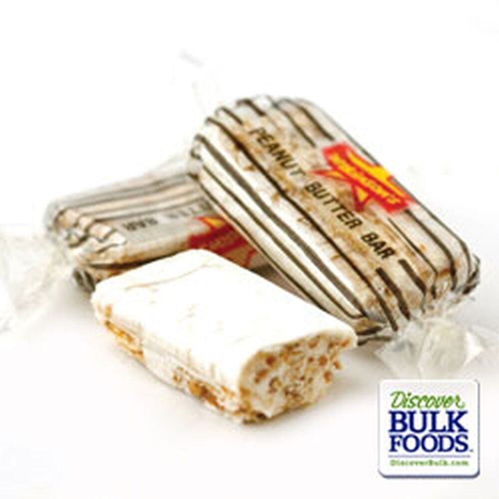 atkinson peanut butter bars wrapped candy candies fresh 1 pound ebay. Black Bedroom Furniture Sets. Home Design Ideas