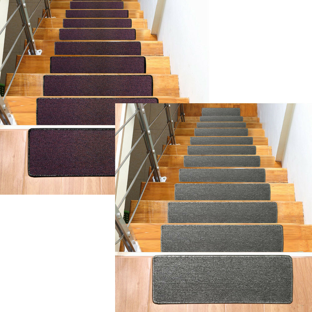 Durable Rug Premium Stair Carpet Treads Set Of 13 Treads 9