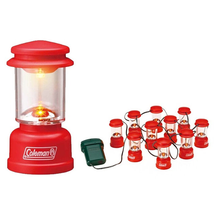 Coleman Led String Lights : Coleman Led String Lights Portable Camping Mini RED Lantern Cute Decorate eBay