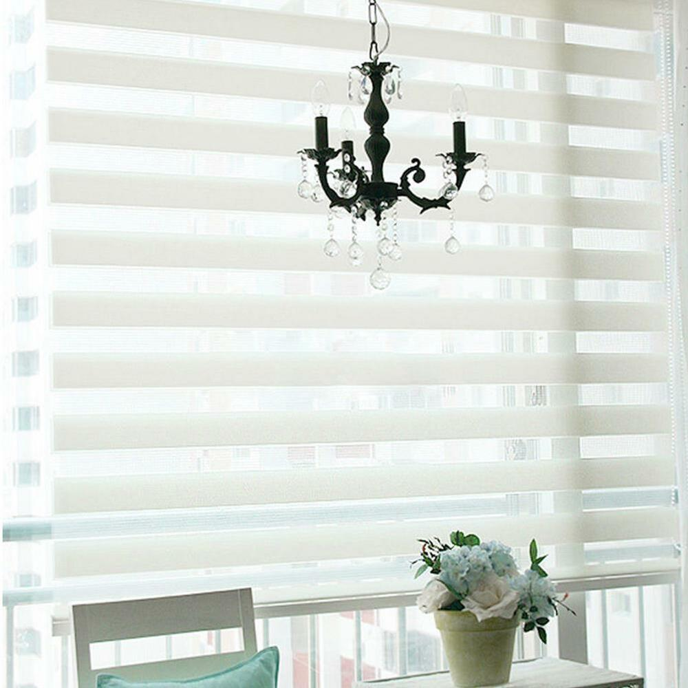Luxury day night roller zebra blind curtain window shade for Decor blinds and shades