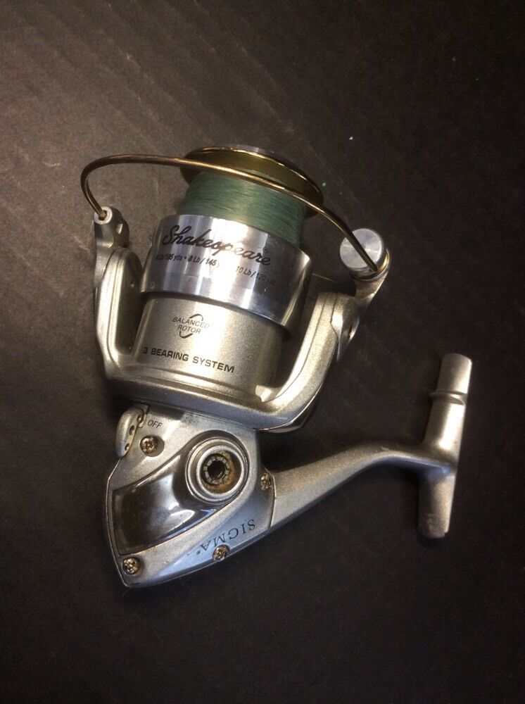 Shakespeare sigma spinning reel 3 b missing crank handle for Fishing reel handle replacement