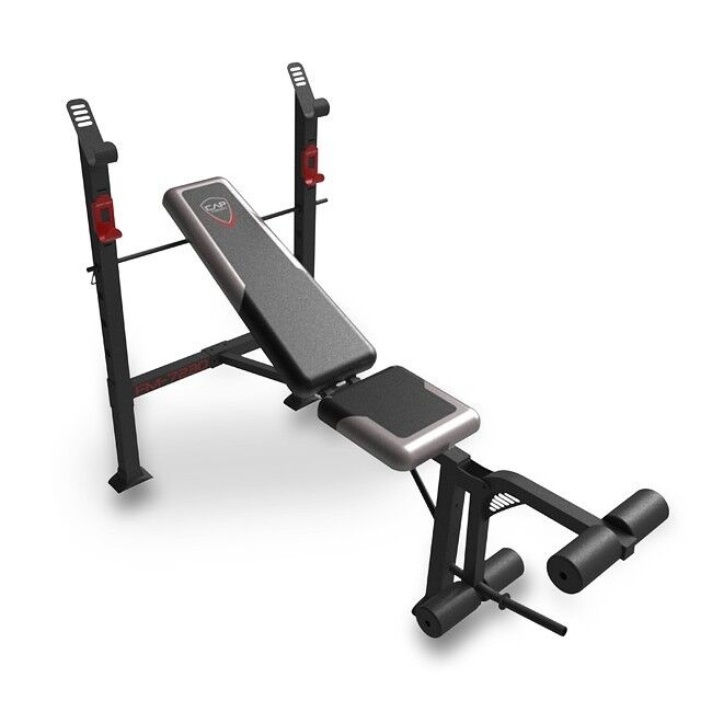 Adjustable Standard Bench Press W Leg Extensions Incline