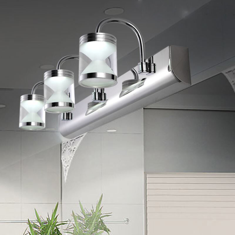 Modern Wall Light For Bathroom: Modern LED Acrylic Bathroom Front Mirror Lights Toilet