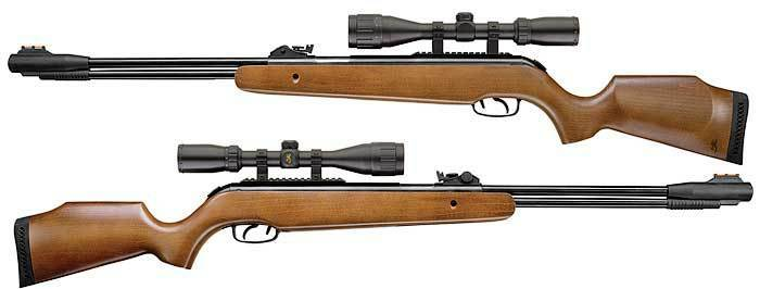 Browning Leverage Air Rifle Underlever Wood Stock 3-9x40 ...