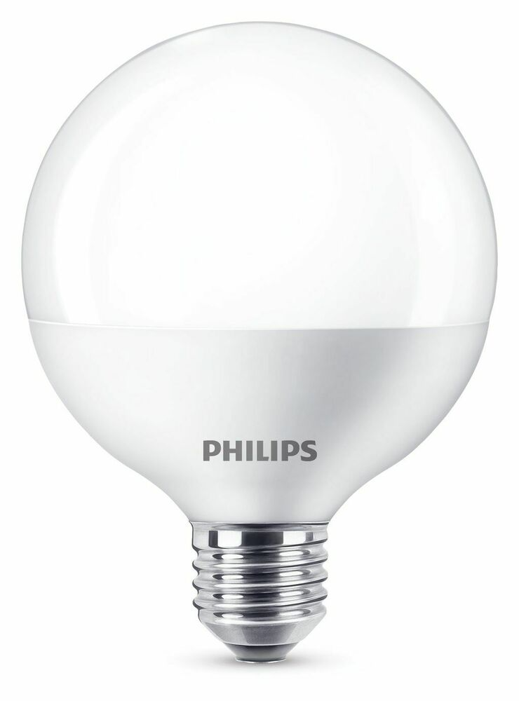 philips led globe g93 e27 lampe 9 5w 2700k wie 60w ebay. Black Bedroom Furniture Sets. Home Design Ideas