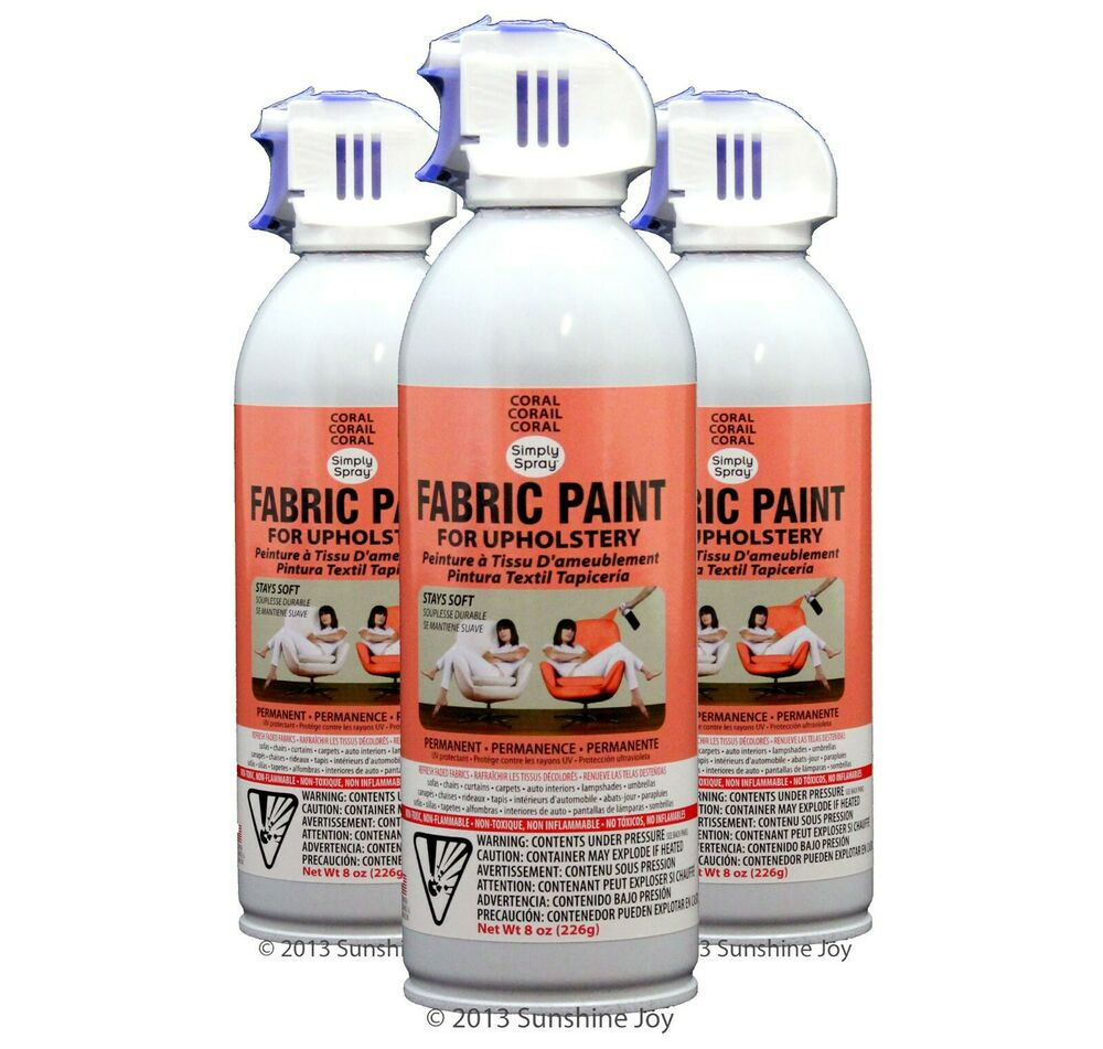 Upholstery fabric spray paint great for cars rv 39 s and Fabric spray paint for car interior