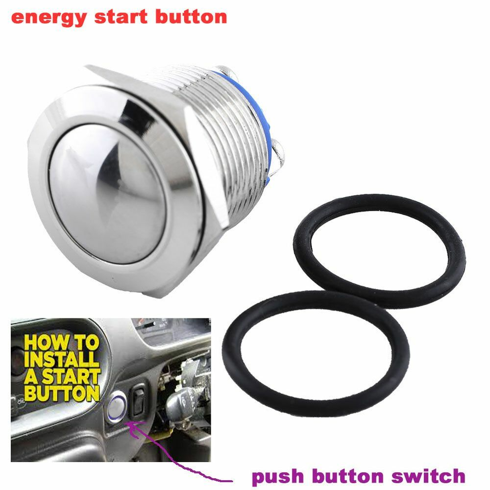 push button switch distributor start with push button kill switch wiring schematic
