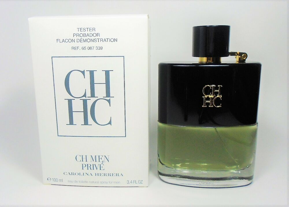 04a55e5c19c40 Details about CH Men Prive by Carolina Herrera EDT for Men 3.4 oz   100 ml   NEW IN TST BOX