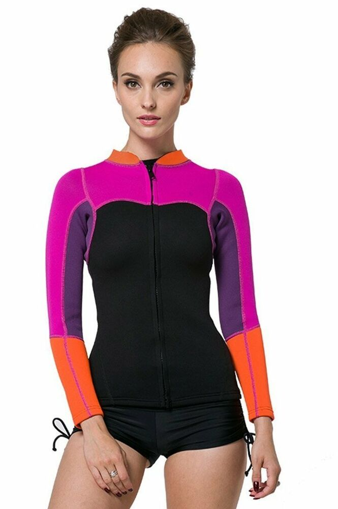 Neoprene jacket women