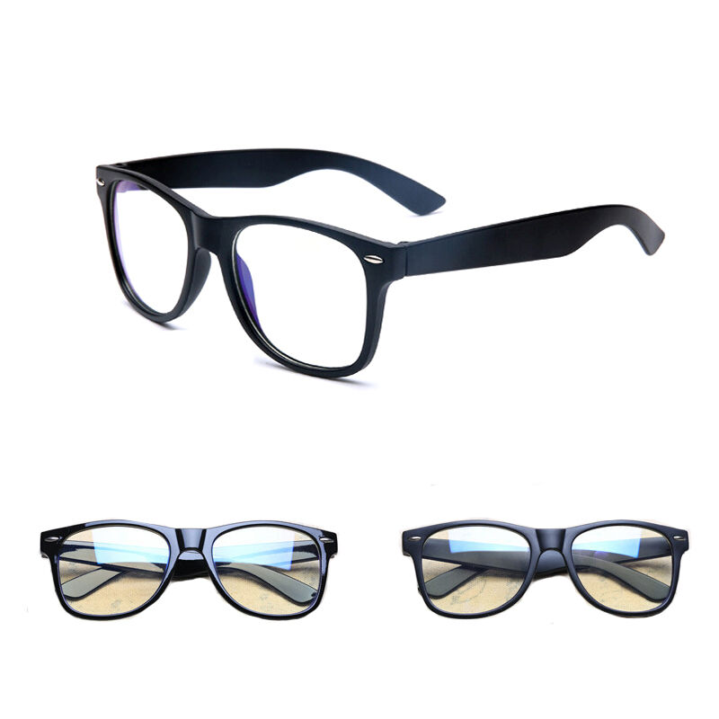 Square Framed Fashion Glasses : Mens Women Clear Lens Glasses Square Frame Vintage Retro ...