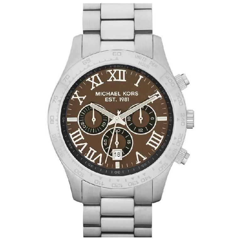 michael kors uhr mk8213 herren chronograph edelstahl. Black Bedroom Furniture Sets. Home Design Ideas