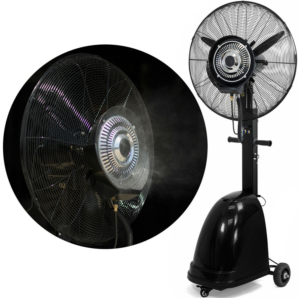 Industrial Misting Fans : Commercial quot high velocity outdoor indoor misting fan