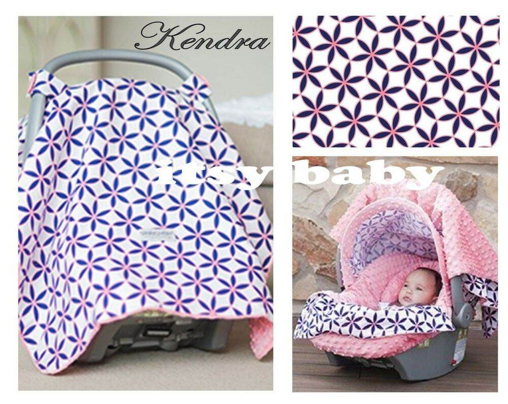 THE WHOLE CABOODLE CARSEAT CANOPY BABY CAR SEAT COVER 5 PC