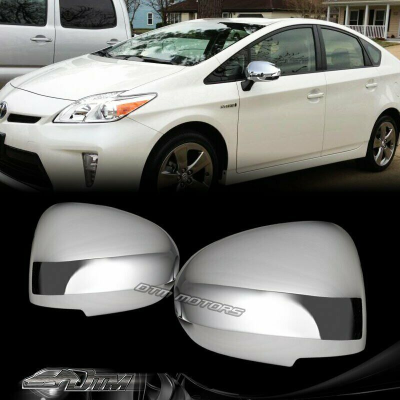 New Chrome Abs Side Mirror Cover Cap For 2010 2015 Toyota