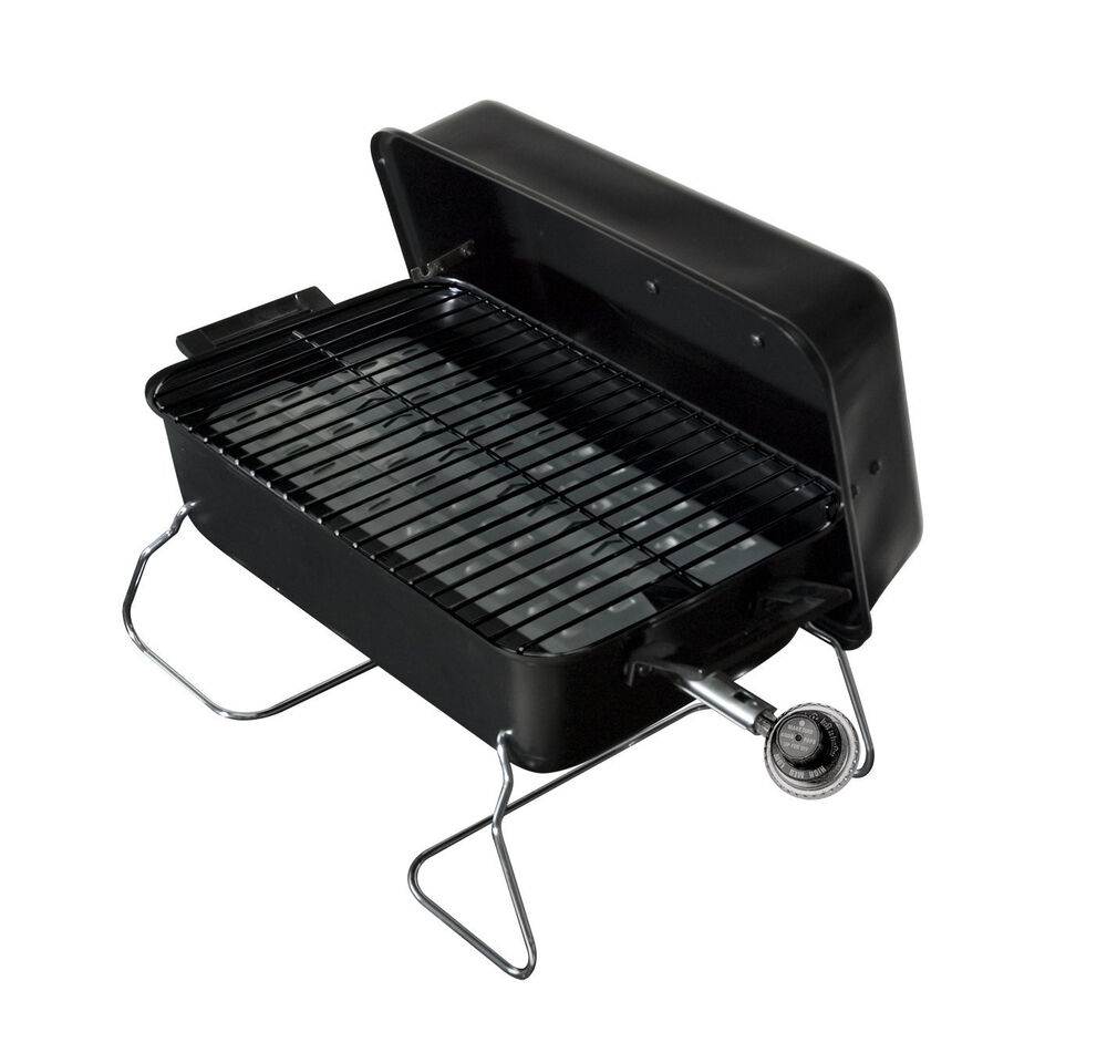 Details About New Tabletop Gas Grill Portable Propane Barbecue Bbq Smokers Outdoor Camping