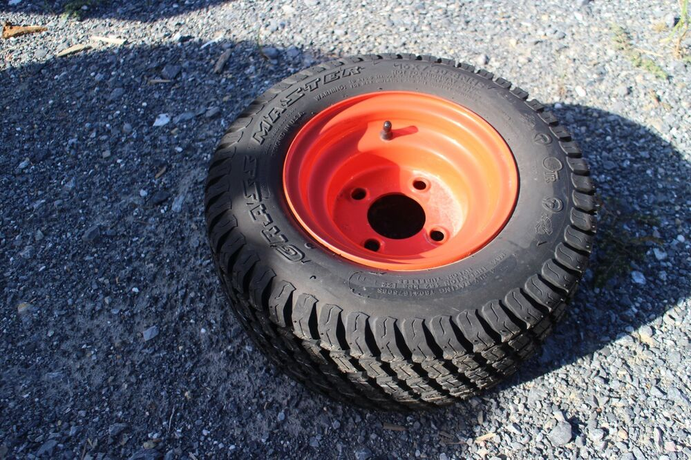Kubota Tractor Tires And Wheels : Front r turf tire rim for kubota bx