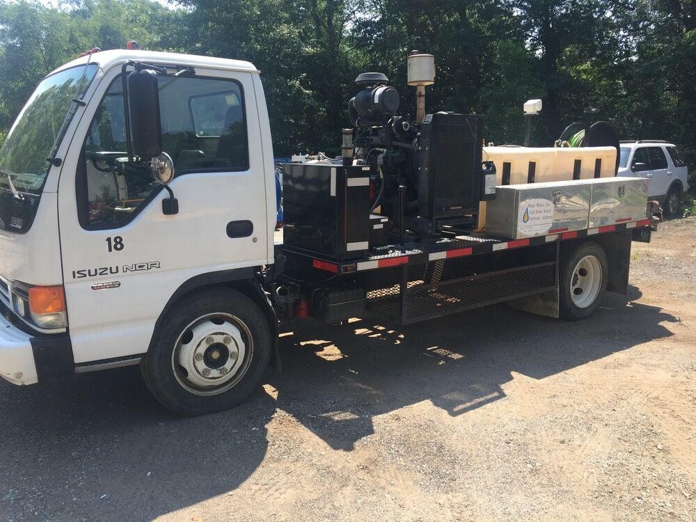 Harben Sewer Jetter Truck Mounted 25gpm 4000psi Ebay
