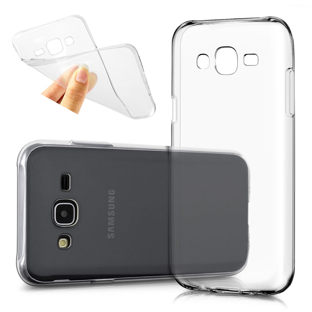 info for 76732 72fb6 Cover Case Gel UltraSlim TRANSPARENT For Samsung Galaxy J5 SM-J500F | eBay
