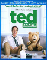 Ted (Blu-ray Disc, DVD, 2012, 2-Disc Set, Unrated)