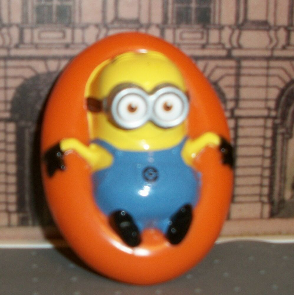 Birthday Cake Toy : Minions despicable me decopac cake topper floating in