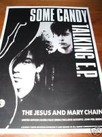 Jesus and Mary Chain 'Some Candy Talking' Poster